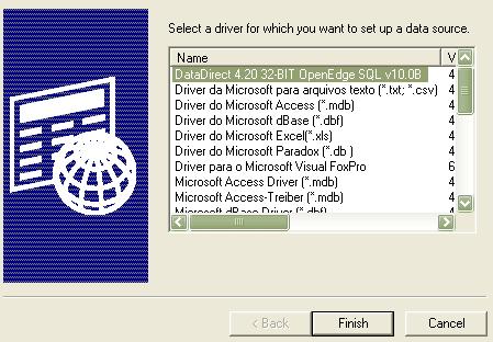 datadirect paradox driver